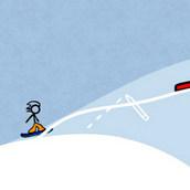 Игра Прикольный сноуборд