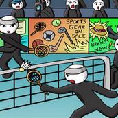 Игра Спортивные состязания по бадминтону