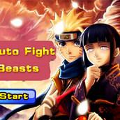 Игра Наруто сражается с монстрами