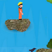 Отчаянный прыжок в водопад