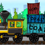 Игра Поезда: Угольный экспресс