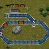 Игра Управляй поездом!