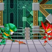 Игра Битвы роботов ниндзя 2