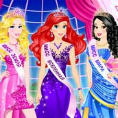 Игра Принцессы Диснея на конкурсе красоты