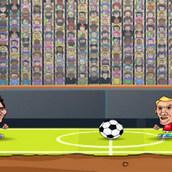 Игра Футбол звезд головами 2016