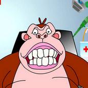 Горилла у стоматолога