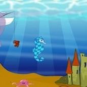 Игра Создай домик для дельфина