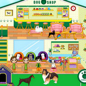 Игра Переделки магазина для собачек