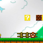 Игра Симпсоны в мире Марио