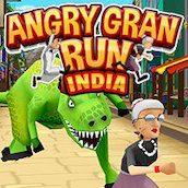 Игра Бешеная бабка сбежала из психушки 8: в Индии