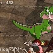 Игра Люди против динозаврова