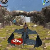 Игра 3Д драконы: супер гонка