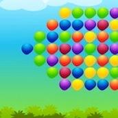 Игра Стрелять по шарикам из рогатки