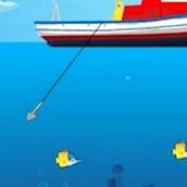 Веселая рыбалка на гарпун