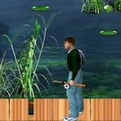 Игра Рыбалка на спиннинг
