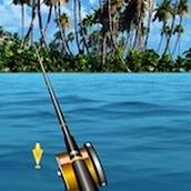 Рыбалка на море в 3Д