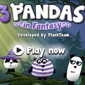 Игра 3 панды в Фантазии