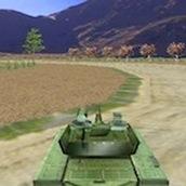 Гонки на танках в пустыне