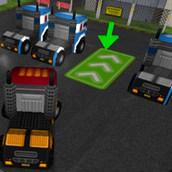 Игра Умелая парковка грузовика