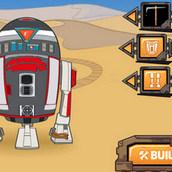 Игра Построить дроида из Звёздных войн