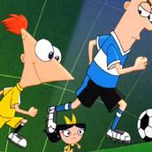 Игра Финес и Ферб: Футбольное путешествие