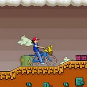 Игра Покемоны: Велосипедная прогулка Эша