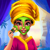Игра Макияж принцессы Жасмин