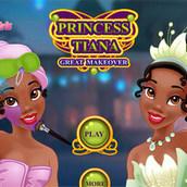 Игра Макияж принцессы Тианы
