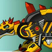 Игра Создай робота: дино-машина