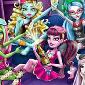 Игра Монстр Хай: Пижамная вечеринка
