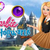 Игра Барби в Хогвартсе