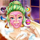 Игра Барби принимает ванну