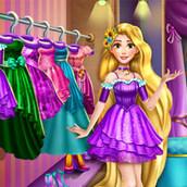 Игра Рапунцель наводит порядок в гардеробе