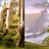 Игра Найди отличия в фэнтези мире
