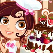 Игра Готовка свадебного торта