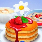 Фруктовые блины на завтрак