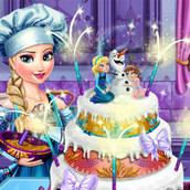 Свадебный торт Эльзы