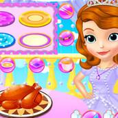 Игра День Благодарения во дворце Софии