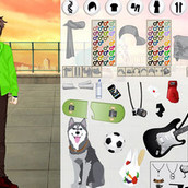 Игра Создание аниме персонажа