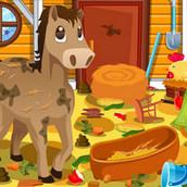 Игра Беспорядок на лошадиной ферме
