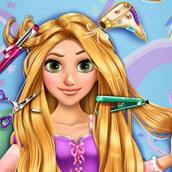 Игра Парикмахерская принцессы Рапунцель