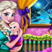 Игра Переделки комнаты ребёнка Эльзы