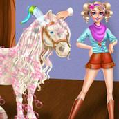 Забота о волшебной лошадке