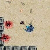 Игра Флеш стрелялка с роботом