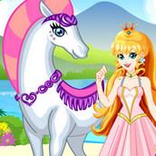 Игра Белая лошадь принцессы 2
