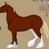 Игра Создай лошадь