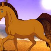 Создание фантастической лошади