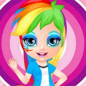 Игра Раскраска лиц девочек из Эквестрии
