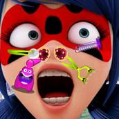 Игра Лечение носа Леди Баг