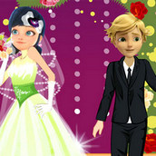 Игра Свадьба Маринетт и Адриана